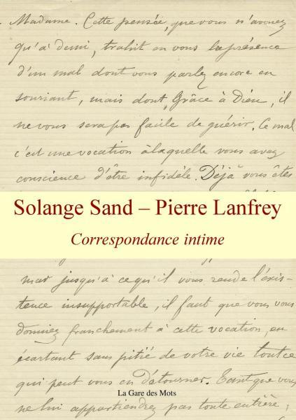 Solange Sand - Pierre Lanfrey