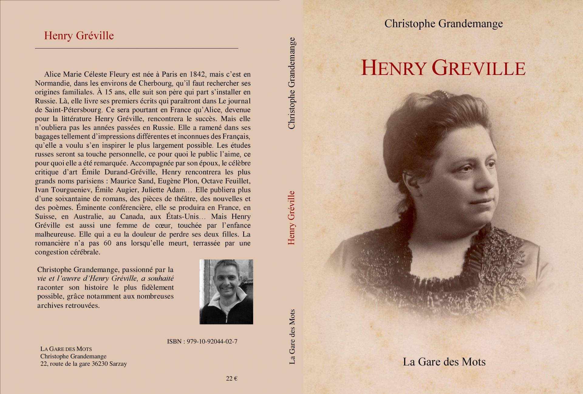 Henry Gréville - Biographie